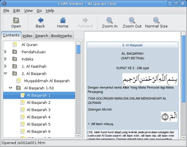 screenshot-chm-viewer-al-quranchm
