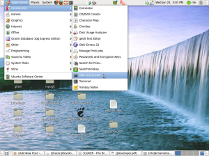 Menu Take Screenshot